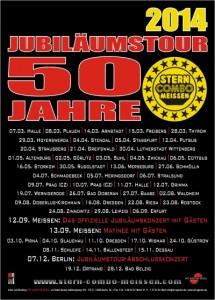 Jubiläumstour 50 Jahre STERN-COMBO MEISSEN